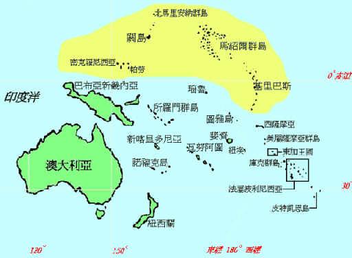 密克羅尼西亞群島