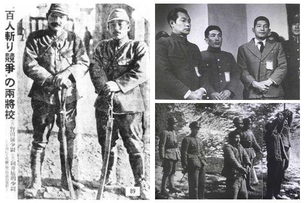 1937年,南京大屠殺期間,在從淞滬戰場向南京進攻途中,侵華日軍第十六師團第九聯隊第三大隊少尉炮兵小隊長向井敏明與同在第三大隊任職的另一名日軍少尉軍官野田毅展開「百人斬」殺人競賽,也就是以砍掉中國人頭顱的數量來進行「比賽」,到攻入南京時,他們中一個殺了105名中國人,另一個殺了106人。之後,兩人又繼續比賽以先殺150人為勝。當年,野田毅25歲,向井敏明26歲。  當時,日本媒體對這場「競賽」大肆報導,1937年12月13日,《東京日日新聞》以「百人斬,超記錄」為題報導,並刊出向井敏明與野田毅兩人拄刀而立的照片,照片上兩人臉上露出冷笑,顯示出兩人冷酷、凶殘的形象。  十年後,在日本民間隱藏的兩人被抓獲,並引渡回中國。作為南京大屠殺百人斬戰犯,兩人被南京軍事法庭以戰爭罪及違反人道罪判處死刑,最後被槍決。