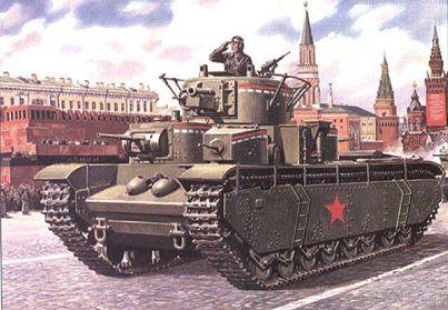 坦克的演進